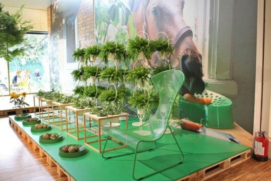 ikea, milan design week, planting tables, eco furniture design, green plant design, sustainable design,