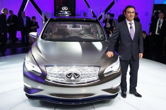 infiniti le, infiniti le electric vehicle, new york auto show, electric vehicle, ev, ny auto show, 2012 New York Auto Show, electric concept vehicle, green transportation, Infiniti, infiniti electric vehicle, nissan, wireless charging