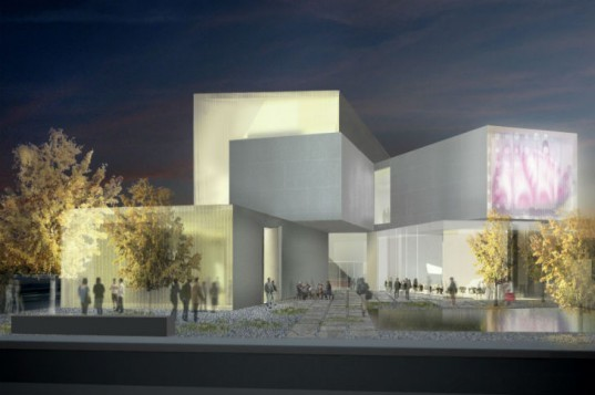 Institute of Contemporary Art, Steven Holl, eco museum, daylighting, virginia commonwealth university, art museum