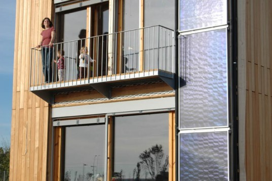 Josep Bunyesc, Spain First Passive House, Passive House, llerida, OSB boards, wool insulation, energy saving, quickly built, Air quality, Prefab Housing, energy efficiency, Daylighting, Renewable Energy