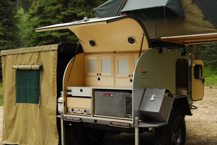 Moby1 S Xtr Is A Modern Expedition Trailer 171 Inhabitat
