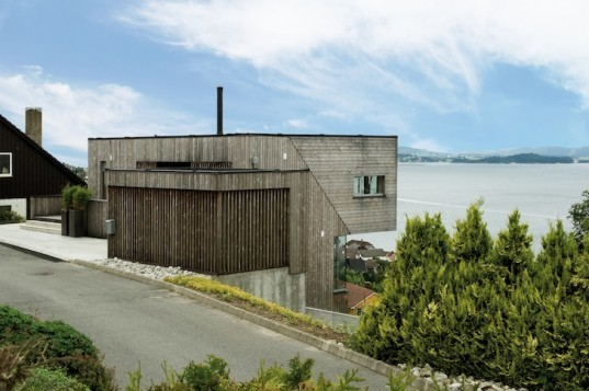 Element, Dinesen, Norway, Northface Home, green renovation, sustainable renovation, existing materials, fjord, byfjorden, eco-design, sustainable design, green design,