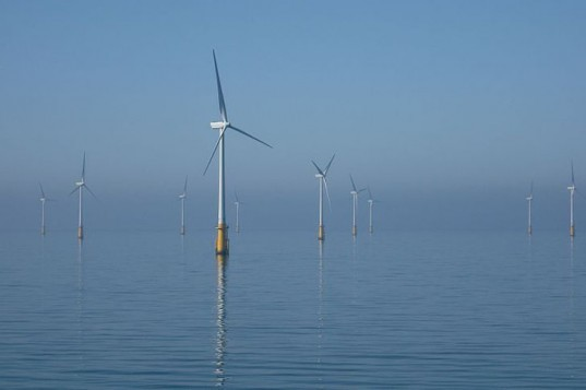 Offshore wind turbines, wind farm, wind energy, wind turbines