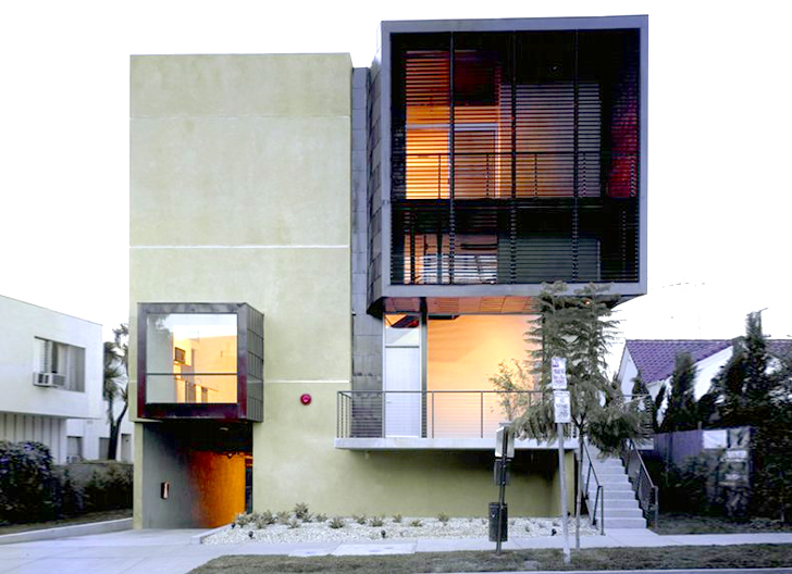 Brooks & Scarpa\'s Orange Grove Apartments Are Modern, Simple ...