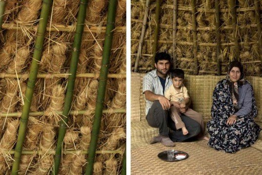 Pouya Khazaeli Parsa, bamboo dome, iran, self-standing shelter, emergency shelter, biodegradable materials, rice plants, architecture, botanical, recycling / compost