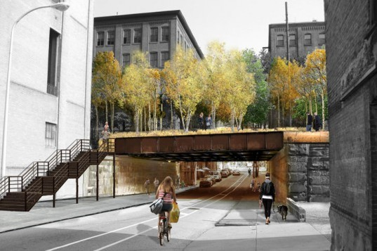 Reading Viaduct, Studio Bryan Hanes, Philadelphia, Urban Park, Elevated Park, Renovated Rail Park, Center City, Philly