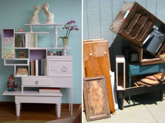 Recycled Furniture, Thomas Wold, upcycled furniture, recycled materials, salvaged materials, green furniture, green interiors