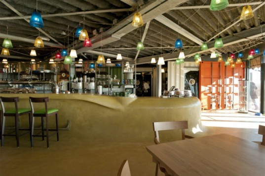 Restaurant Aan Zee, Emma Architecten, eco restaurant, solar power, the netherlands, aan zee, restaurant