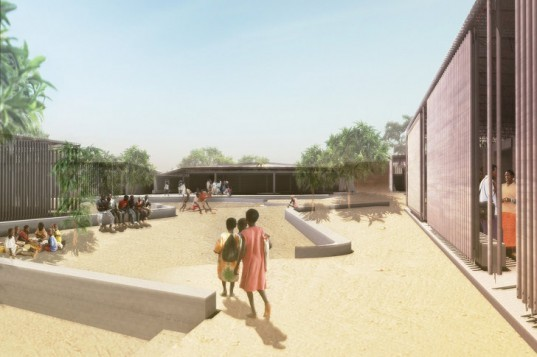 Secondary School, Kere Architecture, global holcim awards, holcim awards, burkina faso, passive cooling, natural ventilation