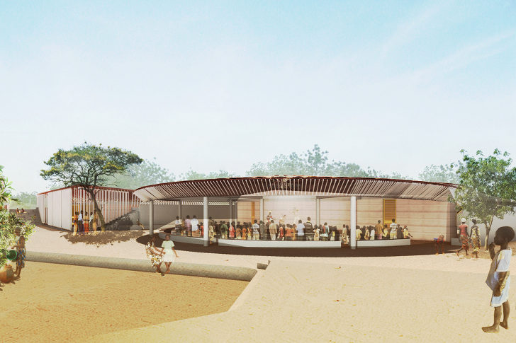 Kere Architecture Wins Global Holcim Award With A Passive Cooling School In Burkino Faso