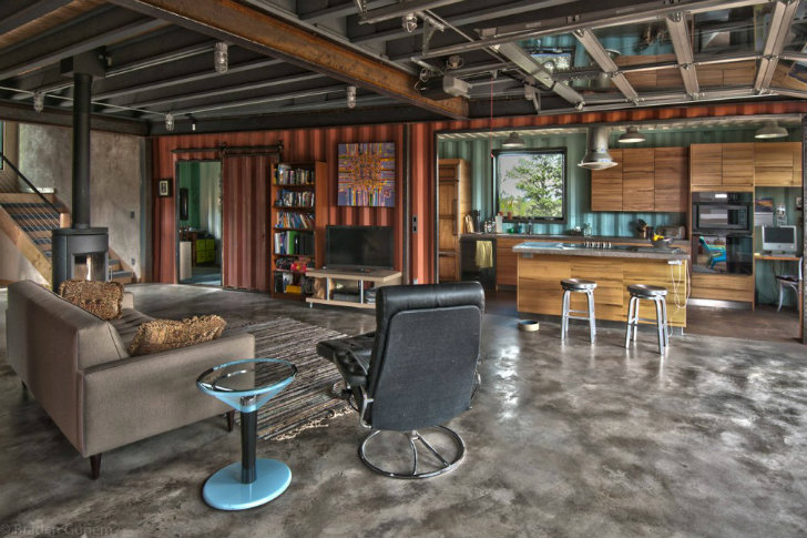 Off Grid Shipping Container House Challenges Space Requirements In