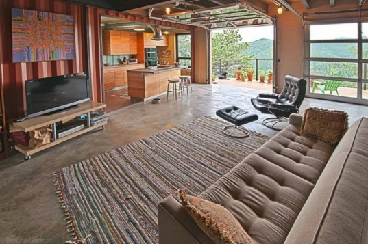 Shipping Container House, Studio HT, small space living, container house, cargotecture, colorado