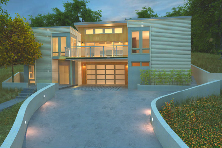 Blu Homes Updating Iconic Breezehouse to be 2012 Sunset Idea House ...