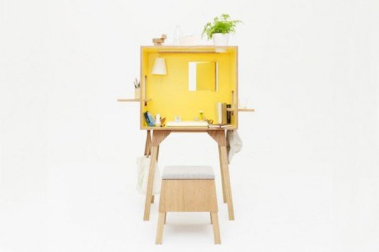 Torafu Architects, Kororo, multifunctional furniture, japanese design, Esperanto, Ichiro Design, polyester veneer, Plywood Lauan, green furniture, Transforming Furniture