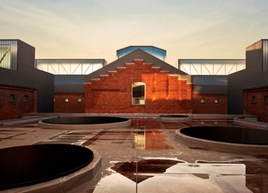 Palencia, Spain, Exit Architects, green renovation, sustainable upgrade, Palencia Civic Center, green design, sustainable design, eco-design, Spain, daylighting, brick, renovation, prison