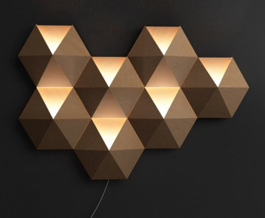 Ambihive, NBT Studio, SaloneSatellite, Milan Furniture Fair, Cardboard, Sound system, Ambient Lighting, Sustainable design