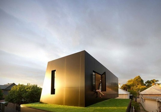 hill house, andrew maynard architects, house extension, solar access, treehugger award, green design, sustainable architecture, landscape design