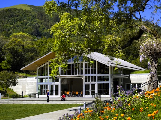 Turnbull Griffin Haesloop Architects, LEED, Platinum, Ross, California, Photovoltaic Panels, sustainable development, Branson School, green design, sustainable design, eco-design
