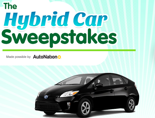 Car sweepstakes about