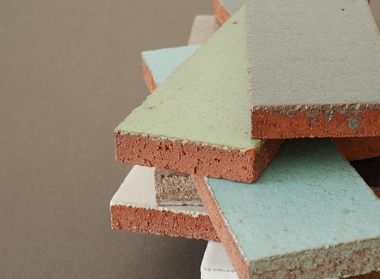 Fireclay Tile, glazed tiles, glazed thin brick, recycled tiles, recycled tile,