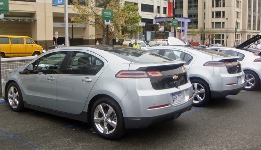 General Motors, Chevrolet Volt, Extended Range Plug-In-Hybrid, Electric Car, Volt Test-Drive, Washington DC