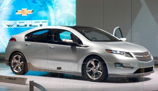 General Motors, Chevrolet Volt, Extended Range Plug-In-Hybrid, Electric Car, Auto Show