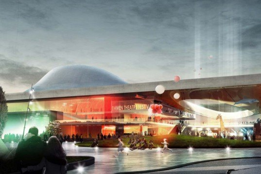 Emmen Theater, Henning Larsen Architecture, Emmen Zoo, Sustainable Architecture, Architecture Competition