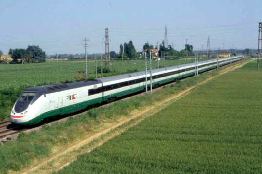 Italy High Speed rail, Europe Rail, Italian Landscape, Northern Italy, Trains Europe