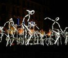 Key Frames: Dancing Figures Light Up the Night With Low-Energy LEDs