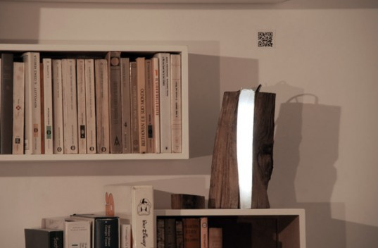 Marco Stefanelli, The boxer design, Brecce collection, Log lamp, eco design, sustainable design