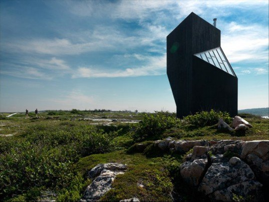 tower studio, todd saunders, fogo island, arts corporation, shorefast foundation