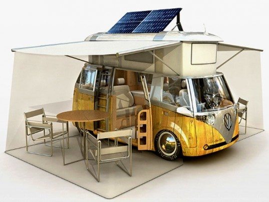 verdier eco camper, verdier eco rv, solar powered vehicle, energy efficient vehicle, sustainable transportation, hybrid camper, efficient rv, verdier volkswagon camper