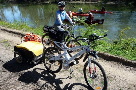 trans-american electric bike tour, anna mostovetsky, evelo bikes, electric bicycle, rural cycling
