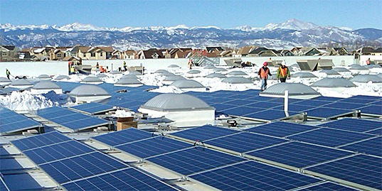 walmart, solarcity, solar, colorado, solar installations, solar power, denver, clean energy