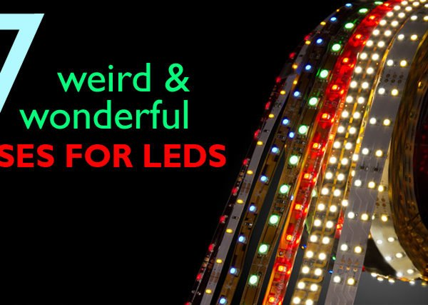7 Weird and Wonderful Uses For LEDs, LED Lighting, LEDs, Light Emitting Diodes, L.E.D., eco friendly lighting, green lighting, environmental lighting, led strips