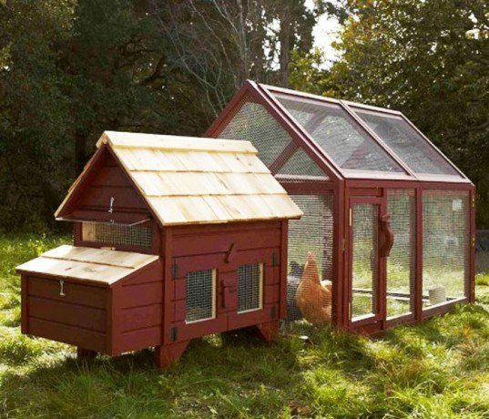 Williams-Sonoma, chicken coop, mobile chicken house, agrarian designs, sustainable design, garden eco design, green design