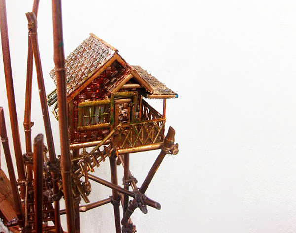 Lyn Deutsch S Awesome Philippine Miniature Houses Are Made