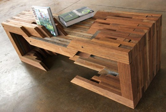 Reclaimed Wood Low Table By Design Brigade 171 Inhabitat