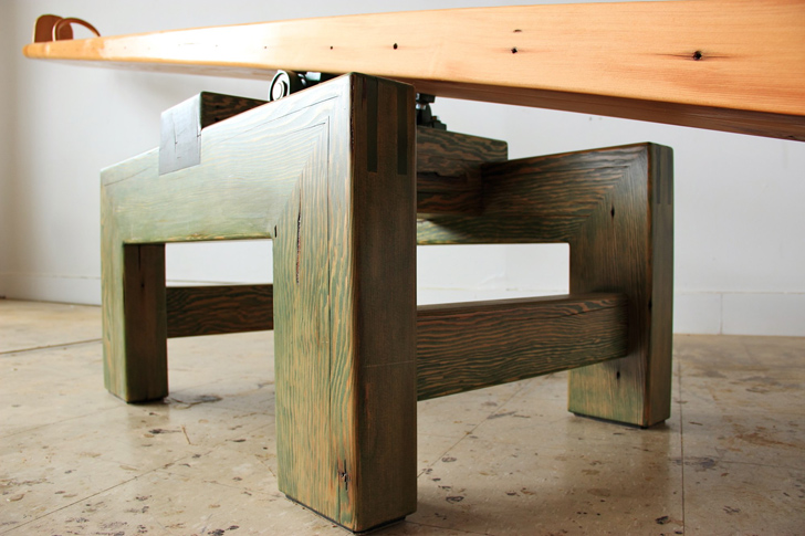 reclaimed wood new york desk 6 sustainable reclaimed wood fu