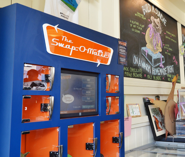 The Swap-O-Matic in Brooklyn Is a Vending Machine That Lets You Trade Old Stuff for New Wares