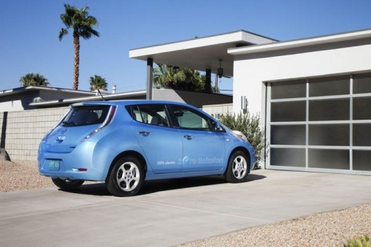 Nissan, General Electric, Nissan Leaf, Smart Grid, Electric Vehicles, green transportation, green living, electric cars, ecomagination
