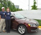Couple Travels Record-Breaking 1,626 Miles on a Single Tank of Gas in a 2012 VW Passat