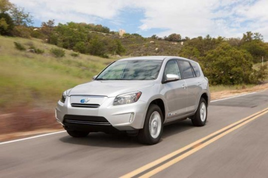 Toyota, Toyota RAV4 EV, Tesla, electric vehicle, electric SUV, green transportation, green car, toyota electric vehicle