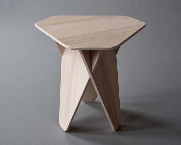 Exceptionnel Andreas Kowalewskiu0027s Wedge Side Table Is A Genius Single Material Flatpack  Design | Inhabitat   Green Design, Innovation, Architecture, Green Building