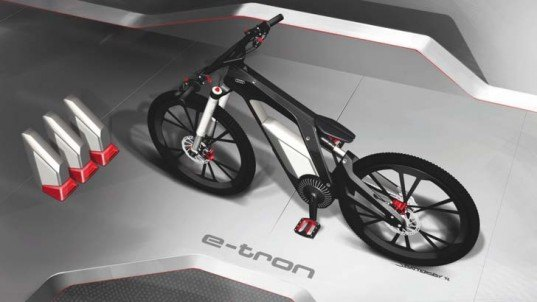 Audi, Audi e-bike, Audi e-bike Worthersee, green transportation, electric bike, lithium-ion battery, carbon fiber bike