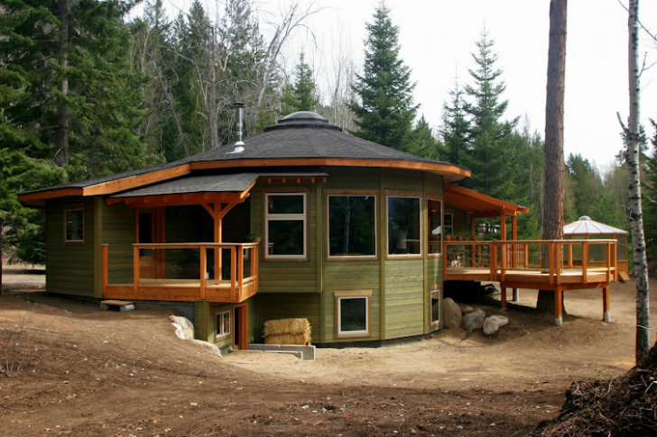 Mandala Round Prefab is BC\'s First Energy Star Qualified Home ...