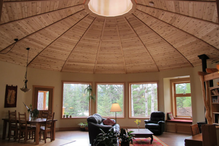 Mandala Round Prefab Is Bc S First Energy Star Qualified Home