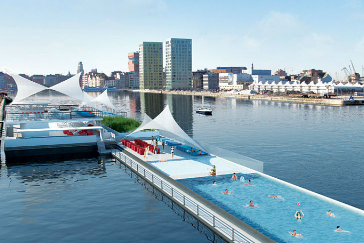 Badboot massive floating eco swimming pool coming to for Pool design certification