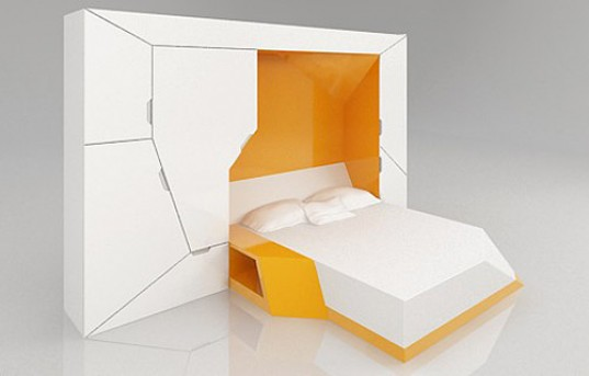U0027Bedroom In A Boxu0027 Is The Ultimate Compact Furniture Suite | Inhabitat    Green Design, Innovation, Architecture, Green Building