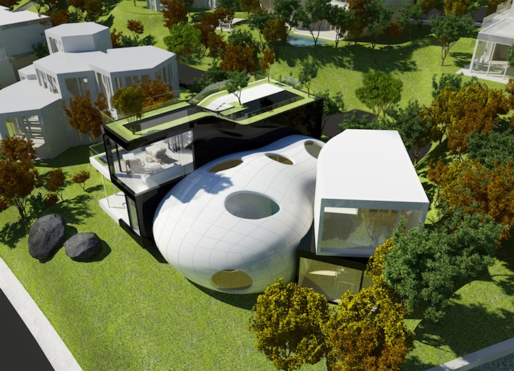 Cocoon House by Planning Korea « Inhabitat – Green Design ...